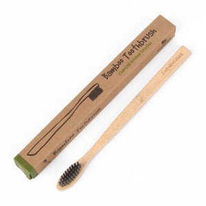 FutureUses® - Bamboo Toothbrush - 1 x Childs/Adults - FutureUses®