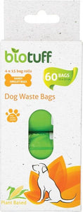 BIOTUFF General Use Biodegradable Bin Liners  - SMALL, MEDIUM, LARGE - DOG WASTE BAGS - FutureUses™