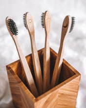 Load image into Gallery viewer, FutureUses® - Bamboo Toothbrush - 4 Pack Childs/Adults - FutureUses®
