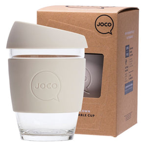 Copy of Joco 8oz 236ml Reusable Coffee Cup Black/Mood Indigo/Sandstone - FutureUses®