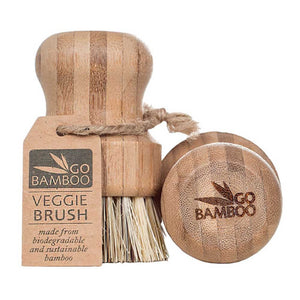Go Bamboo Veggie Brush - FutureUses™