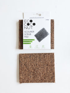 EcoCoconut Scrub Pads (2 Pack) - FutureUses®