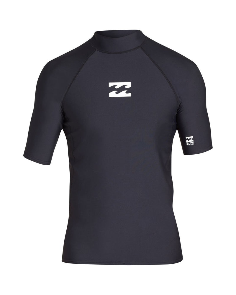 Billabong Men's Apparel - Rashguard L / BLK Billabong - All Day Wave Perform