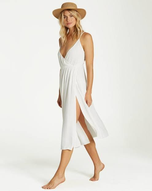 Billabong Women's Apparel - Dresses S / WHT Billabong - Beach Day Cover Up