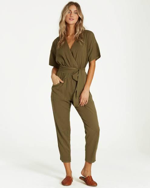 Billabong Women's Apparel - Romper S / GRN Billabong - High Flyer