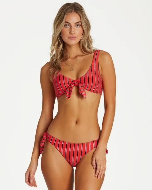 Billabong Women's Apparel - Swimwear S / RED Billabong - Hot For Now Lowrider