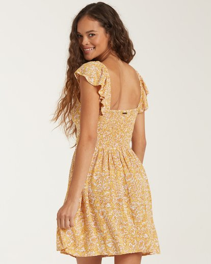 Billabong - Forever Yours Dress, Vintage Yellow