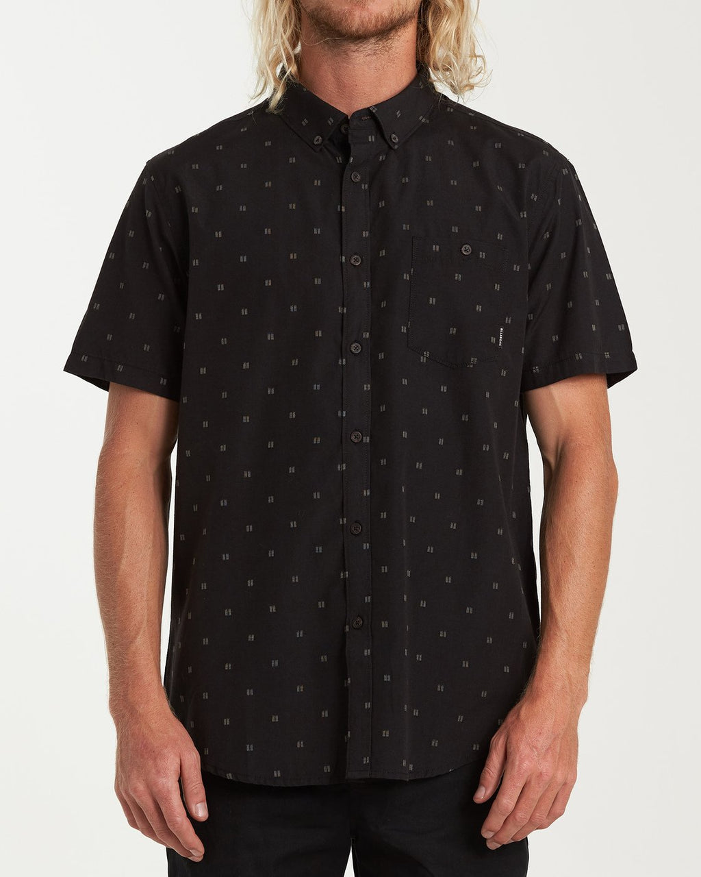 Billabong - All Day Jacquard SS, Black