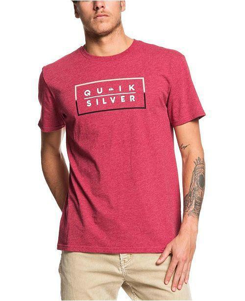 Quiksilver Men's Apparel - Shirts S / RED Quiksilver - Clued Up MOD
