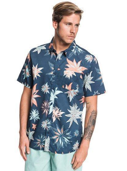 Quiksilver Men's Apparel - Wovens S / BLU Quiksilver - So. Nights SS