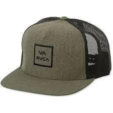 RVCA Headwear O/S / GRN RVCA - All the way Trucker