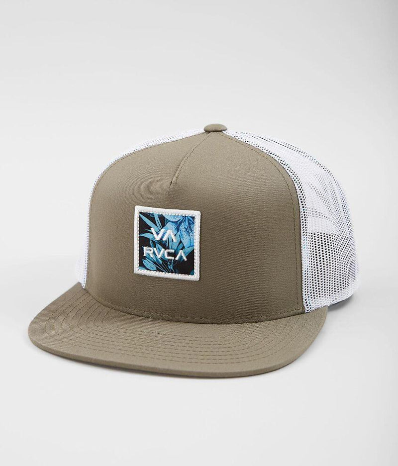 RVCA Headwear O/S / WHT RVCA - All the way Trucker