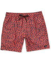 RVCA Men's Apparel - Boardshorts M / RED RVCA - Gerrard Dots