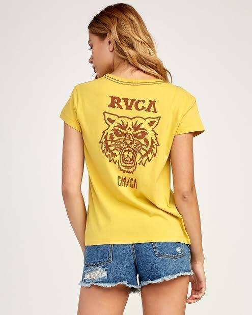 RVCA Women's Apparel - Tops RVCA - Heritage Tee
