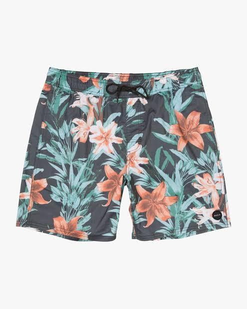 RVCA Men's Apparel - Boardshorts M / BLK RVCA - Montague  Elestic