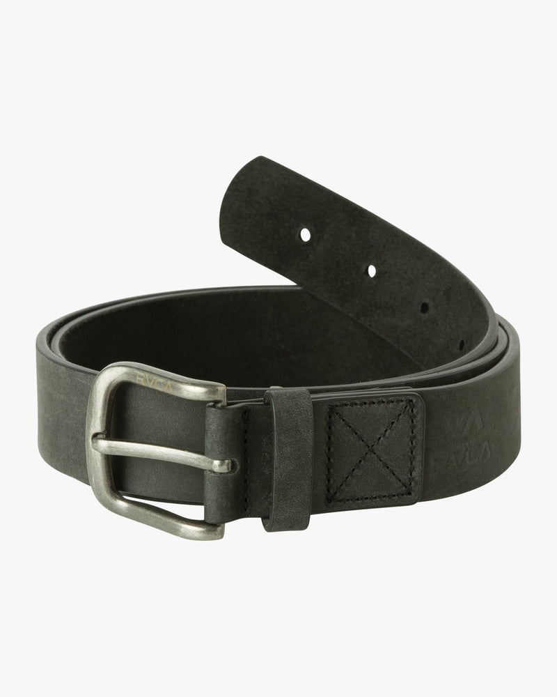 RVCA Packs & Accessories S/M / BLK RVCA - Truce Leather Belt