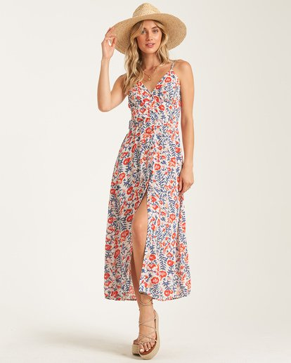 Billabong - Sugared Life Midi Dress, Multi