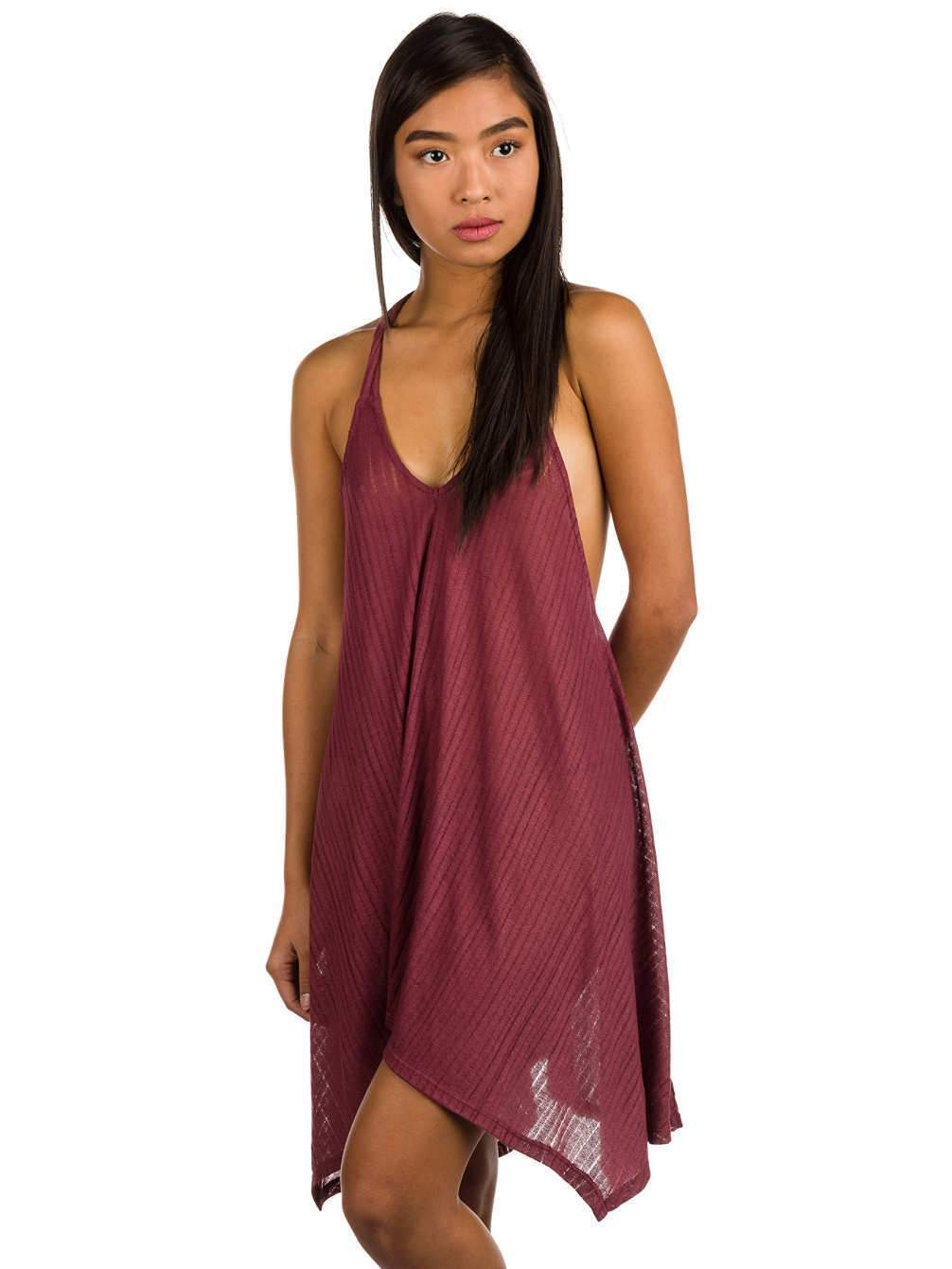 -Billabong- Women's Apparel - Dresses X-Small / Redwood Z-Billabong - Twisted View