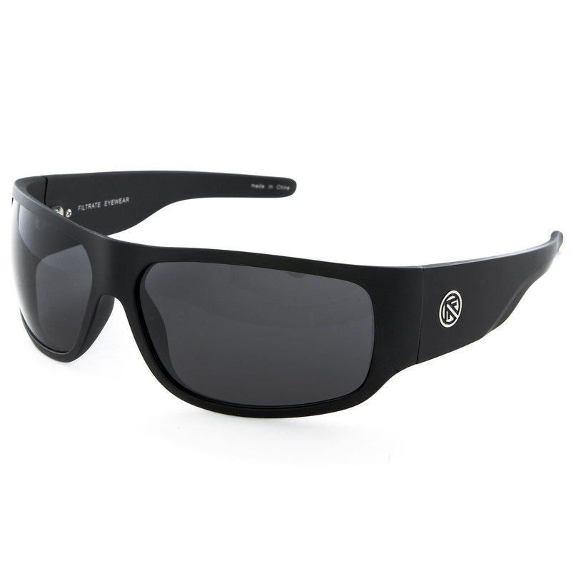 Filtrate Sunglasses Black Matte / Grey Z-Filtrate - Zeppelin