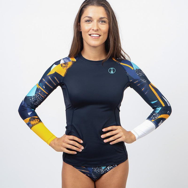 Fourth Element Women's Apparel - Rash Guard 4 / Midnight Z-Fourth Element - Hydroskin