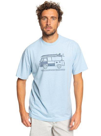 '-Quiksilver- Men's Apparel - Shirts Small / Cerulean Heather Z-Quiksilver - Cruz Control