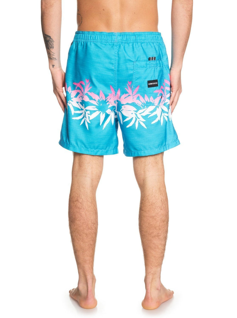 -Quiksilver- Men's Apparel - Boardshorts Small / Turquoise Z-Quiksilver - Voodoo Volley 17