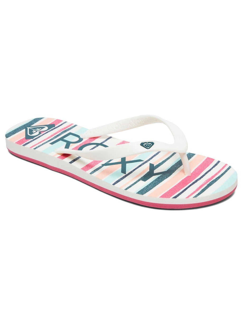 -ROXY- Women's - Sandals 6 / Stripe Barely Pink Z-ROXY - Tahiti