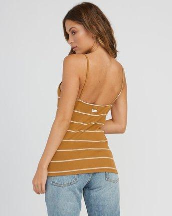 -RVCA- Women's Apparel - Tops Z-RVCA - Tazed Striped Knit