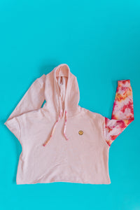 Pink Skies Cropped Sweatshirt