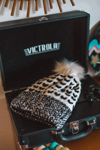 Salt and Pepper Knit Beanie