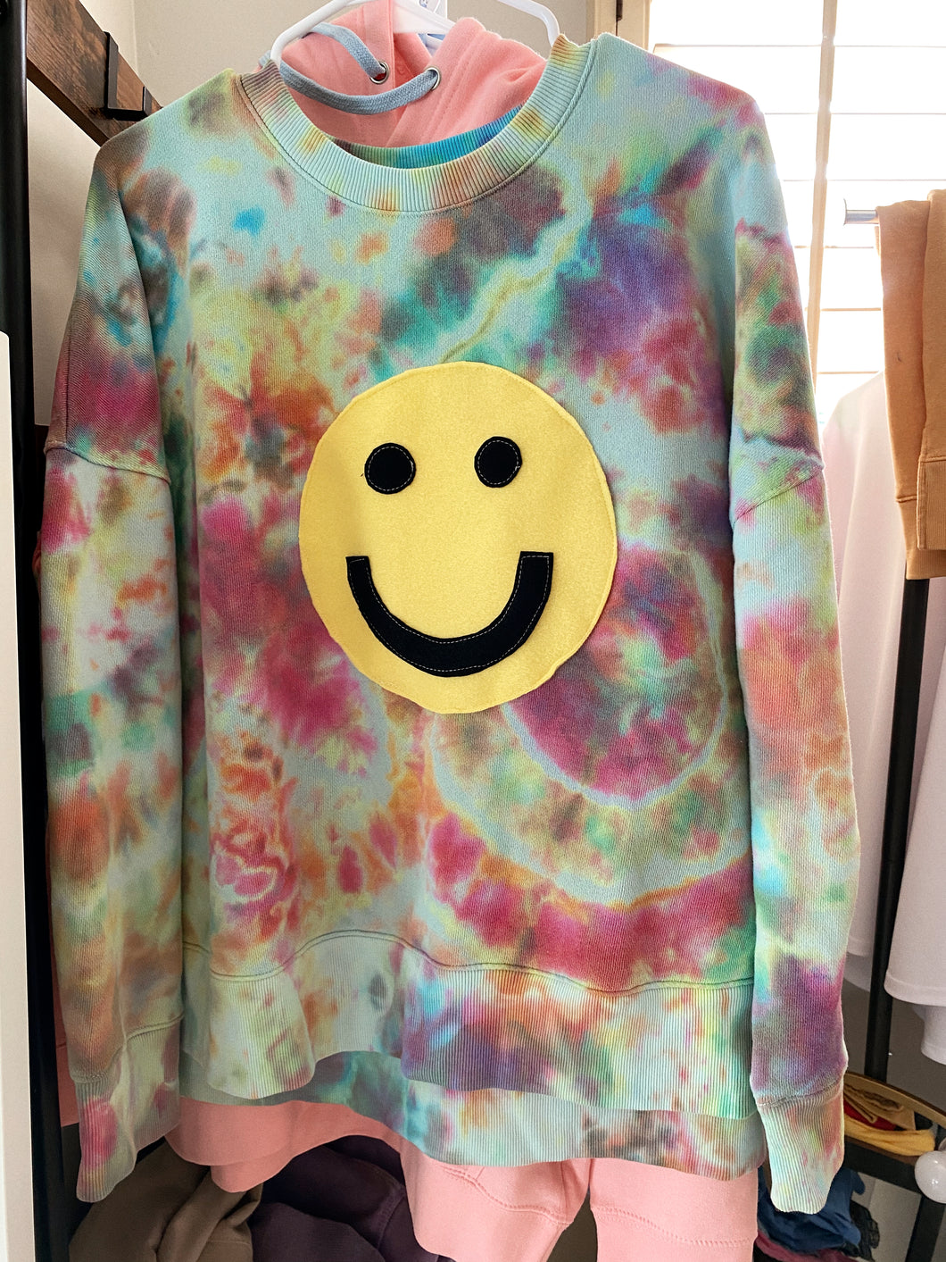 Smiley Face Crewneck