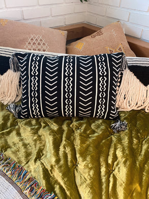 Mudcloth Print Pillow