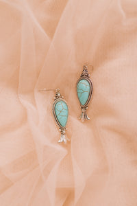 Turquoise Droplets Earrings