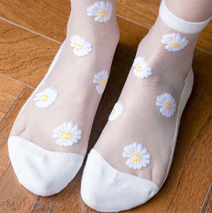 Daisy dream mesh socks