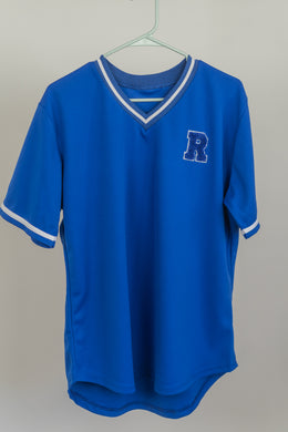 Medium Blue Athlete Shirt