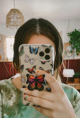 Butterfly Baby phone grip