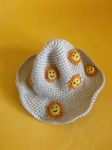 Sunshine Crochet Bucket