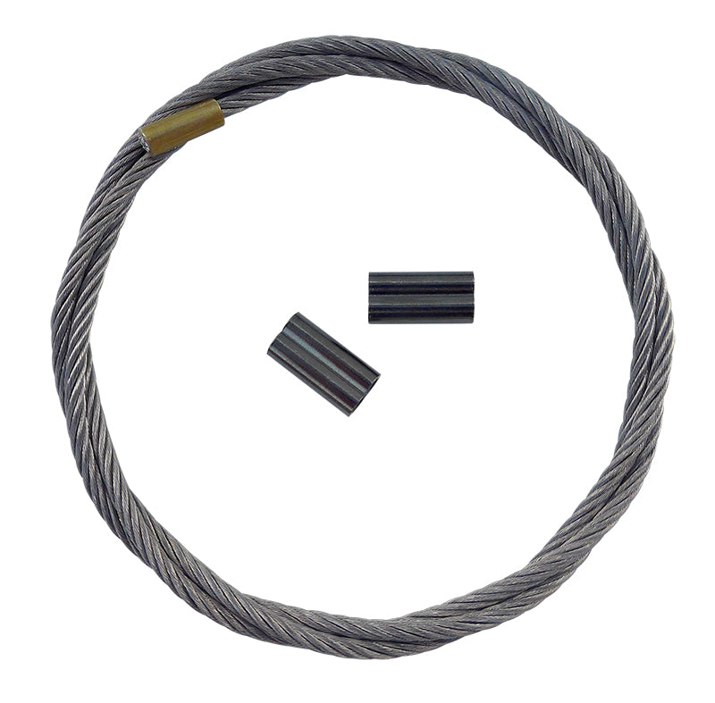 Replacement Cable with Crimps