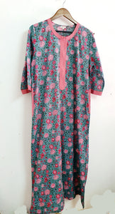 Lagoon Floral Nightgown