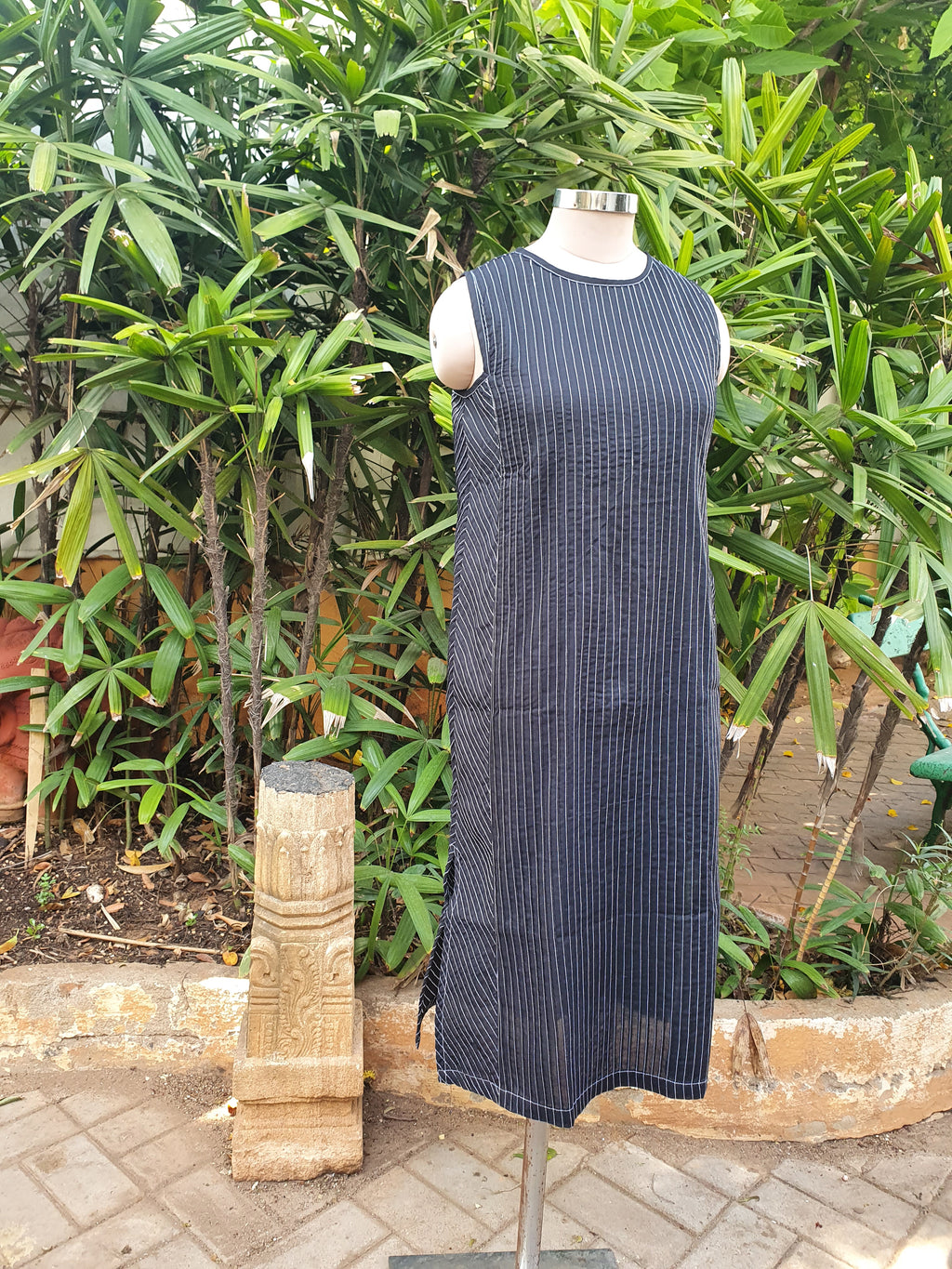 Pin Tuck Dress