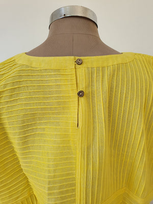 Pleated Box Top