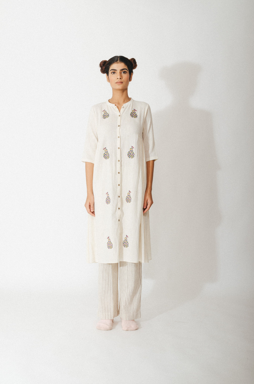 Pear Embroidered Tunic