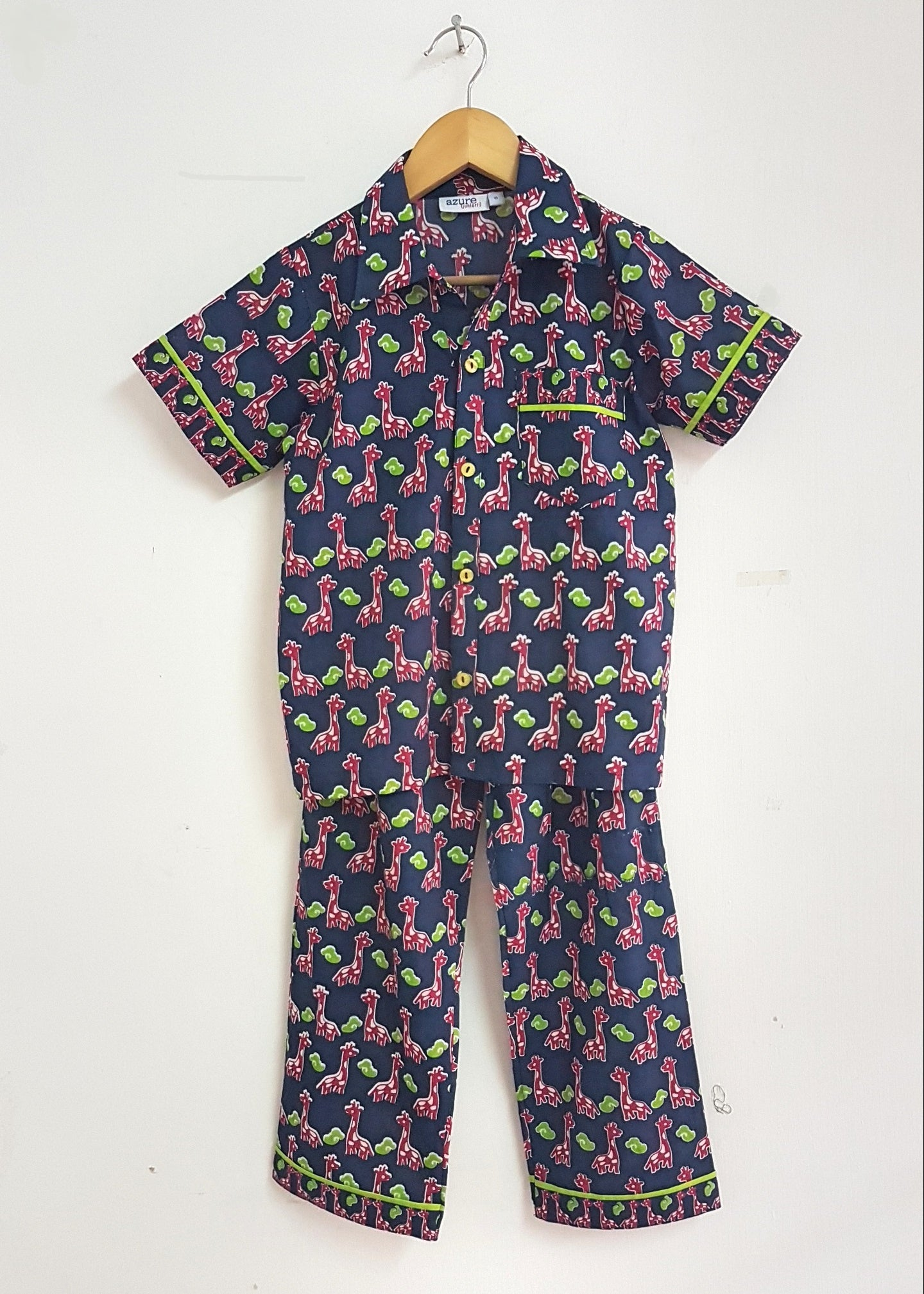Kids Pajamas with Short Sleeves