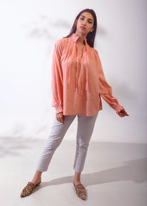 Box Pleated Top