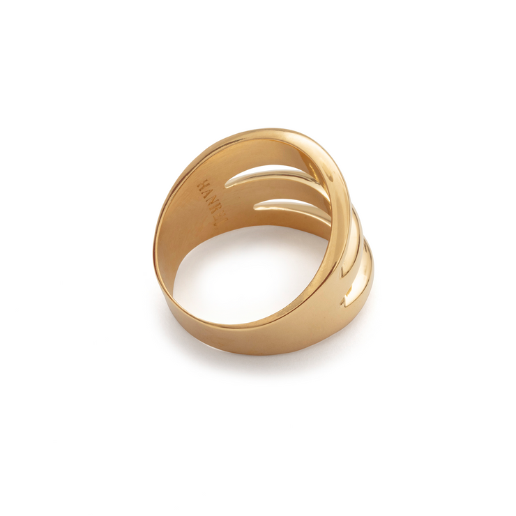 Fantastic Island Travel Ring - Gold Plated