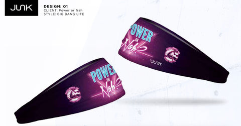 Power or Nah ChallengeMe Brand Head Band