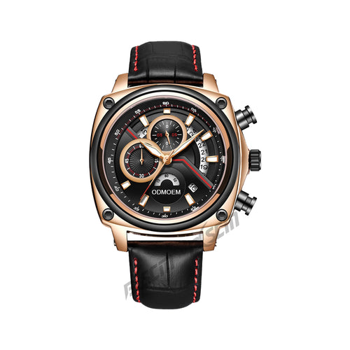 Men's Fashion Leather Watches H28016A