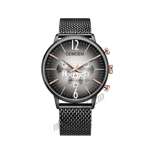 Men's Business Steel Mesh Watches H28022A