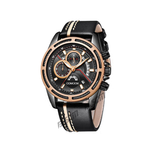 Men's Sports Leather Watches H28015A