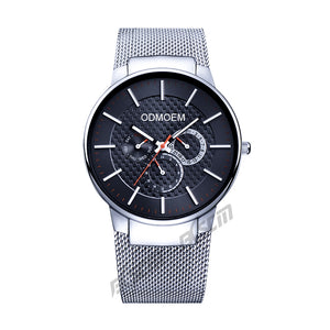 Men's Business Steel Mesh Watches H28035A
